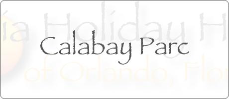 Calabay Parc Davenport Orlando Florida