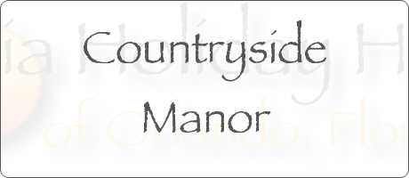 Countryside Manor Poinciana Orlando Florida