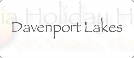 Davenport Lakes Davenport Orlando Florida