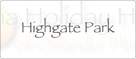 Highgate Park Davenport Orlando Florida