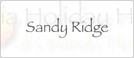 Sandy Ridge Davenport Orlando Florida