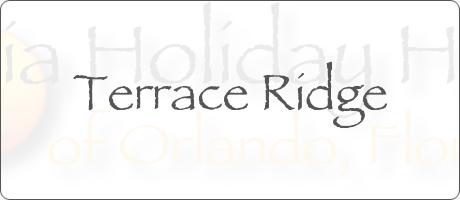 Terrace Ridge Davenport Orlando Florida