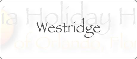 Westridge Clermont Orlando Florida