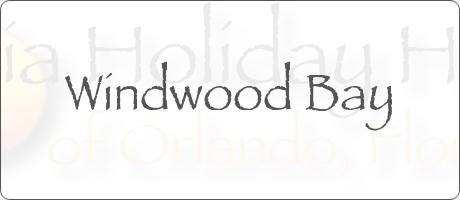 Windwood Bay Davenport Orlando Florida